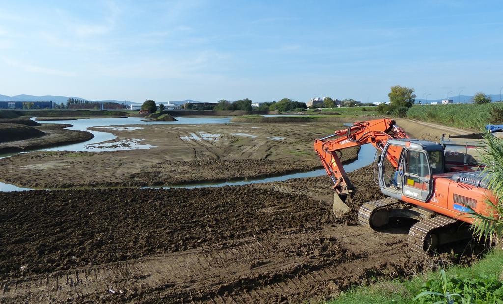 Fine lavori del lago (ottobre 2013)